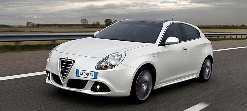 Alfa Romeo wit